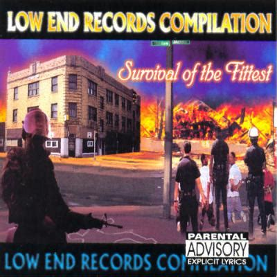 Gary Indiana Records Low End Records Quot Survival Of The Fittest Quot Gary Indiana 4everunderground