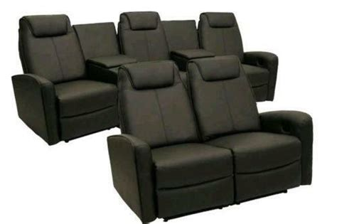 home theater seating furniture ebay