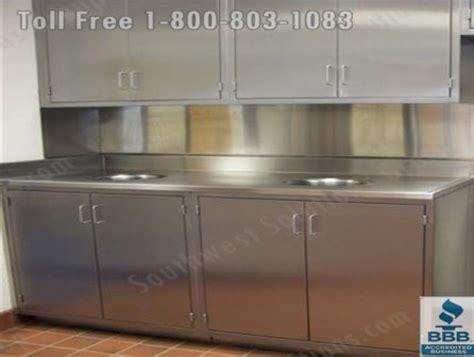 stainless steel casework furniture modular millwork