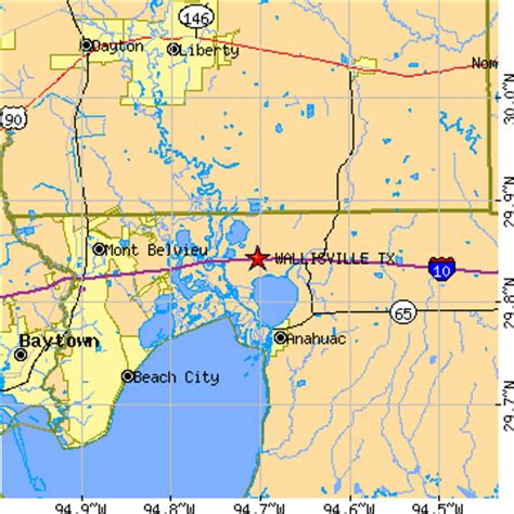 wallis texas map wallisville texas tx population data races housing economy