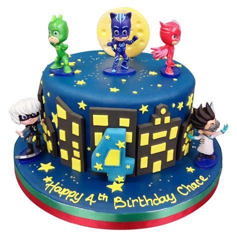 Pasta Gigi White Max pj masks cake birthday cakes the cake store