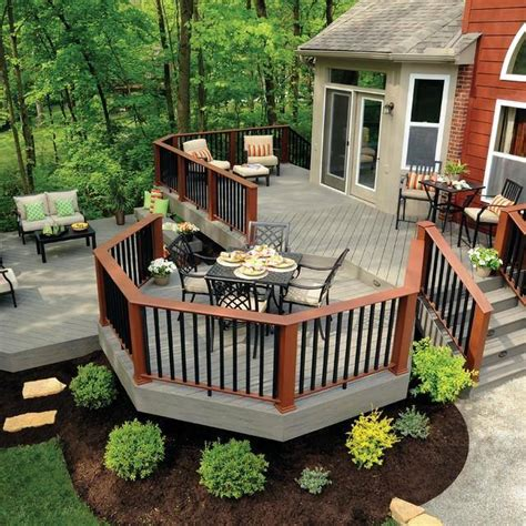 Deck Ideas For Backyard Awesome Backyard Deck Design Ideas Pk Lattest