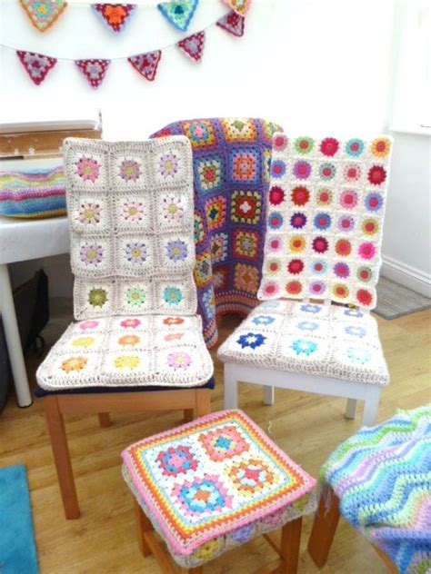 images  crocheted chair cover  pinterest