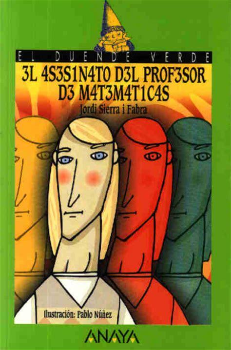 el asesinato de la 8466762523 el asesinato del profesor de matem 193 ticas aula de pensamiento matem 225 tico