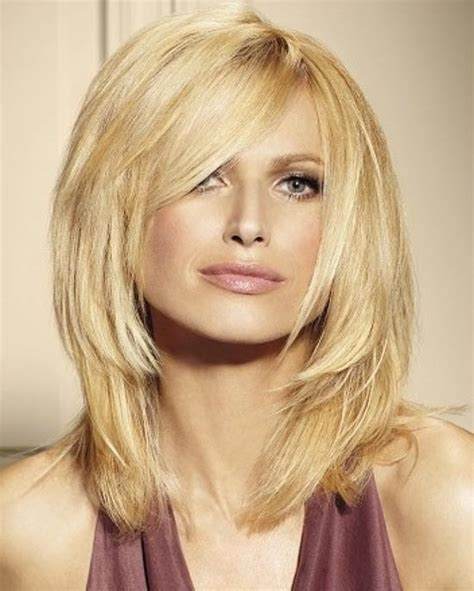 shoulder length hairstyles with long chin lenghth pieces in front shoulder length choppy hairstyles fashion trends styles