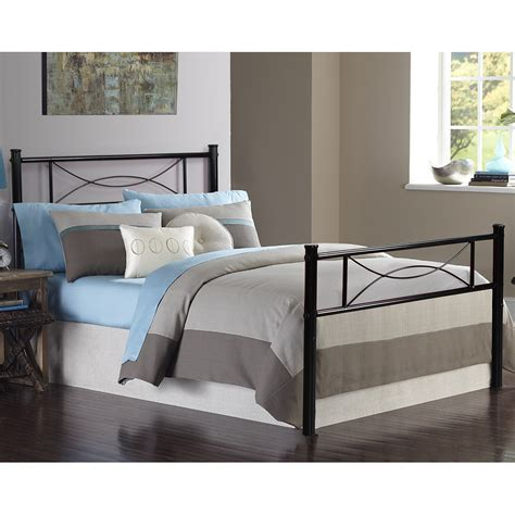 metal twin headboard bedroom metal bed frame platform mattress foundation