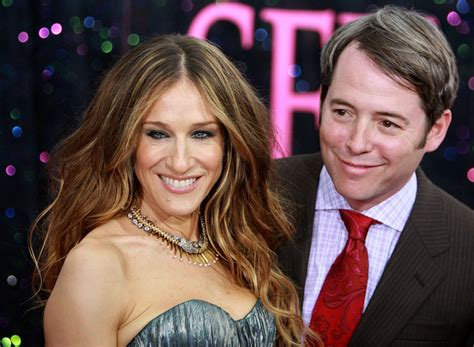 Hollywood: Matthew Broderick With His Wife Sarah Jessica