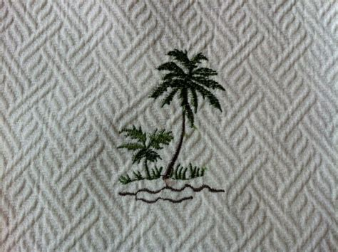 palm tree upholstery fabric tommy bahama heavy cotton fabric palm trees embroidered