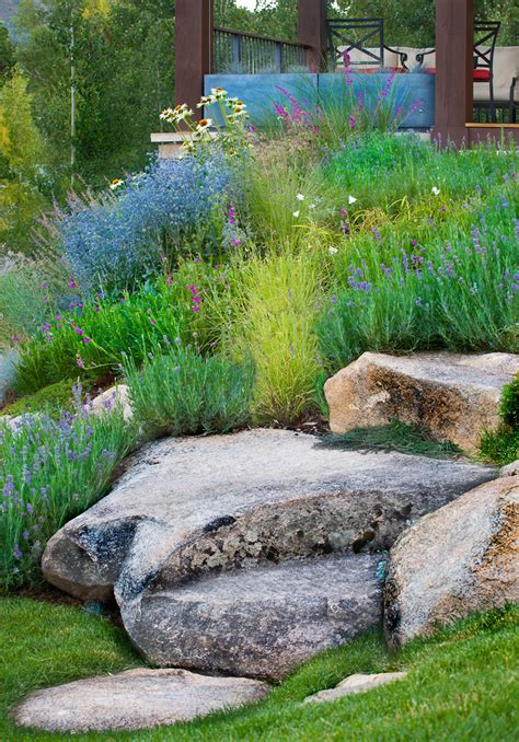 Landscape Rock Denver Inspired Rock Garden Fashion Denver Traditional Landscape