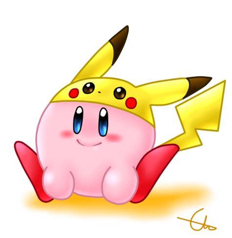 imagenes de kirby kawaii pikachu kirby by gpdbfl on deviantart