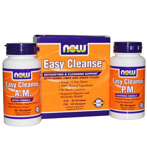 Best Easy Total Detox by Iherb Customer Reviews Now Foods Easy Cleanse 2