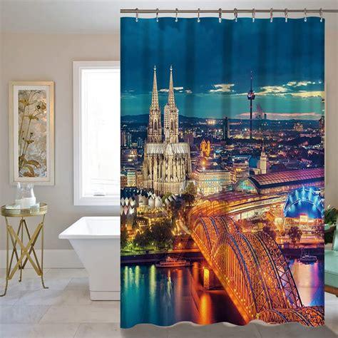 scenic curtains wholesale shower curtain 180x150 180cm bathroom curtains