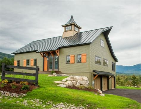 barn style home plans barn style house plans in harmony with our heritage