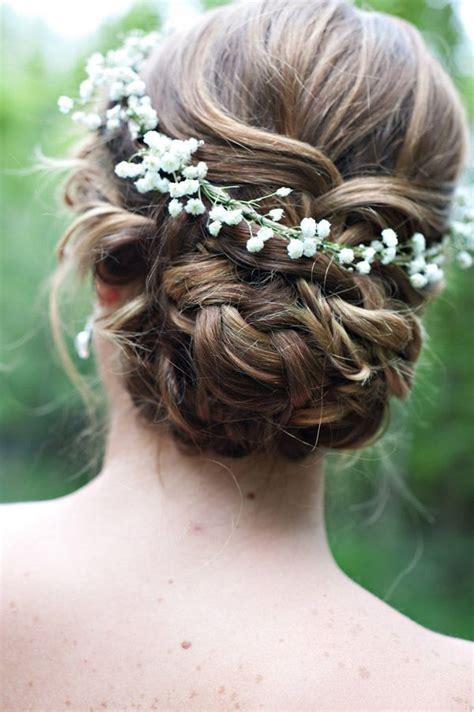 Wedding Hairstyles With Gypsophila by 90 Rustic Budget Friendly Gypsophila Baby S Breath Wedding
