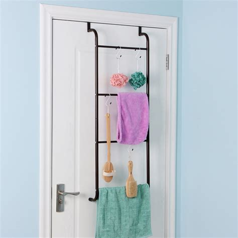 bathroom door rack towel bar for bathroom types style ideas and benefits