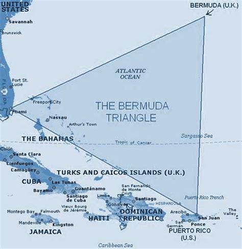 location of bermuda on world map bermuda triangle map and location bermuda triangle