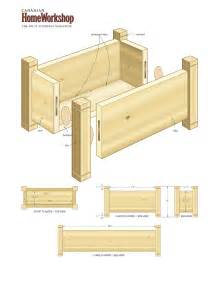 pdf free flower planter box plans plans free