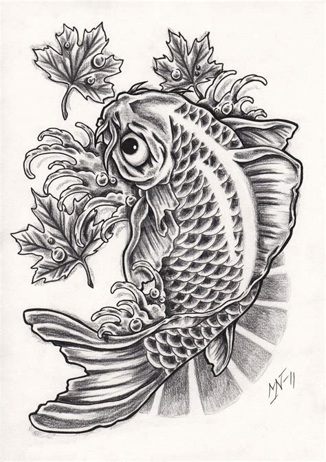 tattoo designs drawing koi fish photos 03 the collectioner
