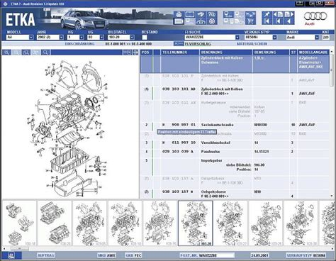 Audi Etka Telecharger Etka V7 3 Epc Electronic Parts Catalogue
