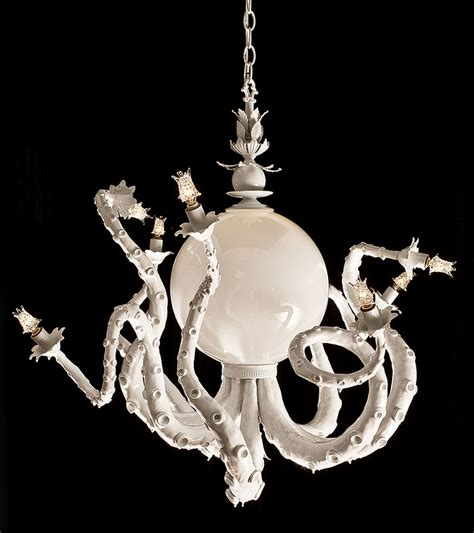Adam Wallacavage Chandeliers Interior Inspiration Octopus Chandeliers By Adam Wallacavage