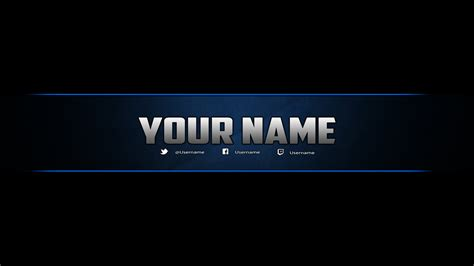 channel banner template banner template photoshop by dazgames on deviantart