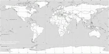 world map black and white the world map wallposters hits all