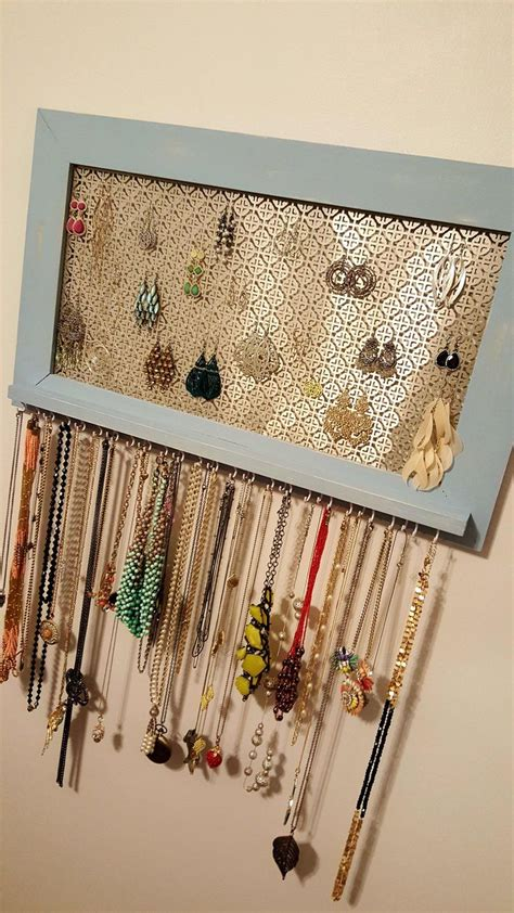 How To Make A Hanger Holder - best 25 earring holders ideas on diy projects