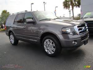 Grey Ford 2011 Ford Expedition Limited In Sterling Grey Metallic Photo 2