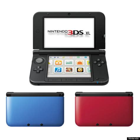 Nintendo New 3ds Xl Whitemetalic Bluered nintendo 3ds xl south pricing and release date