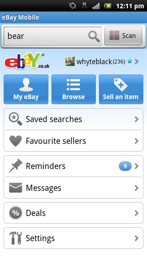 bay app for android official ebay android app review pc advisor