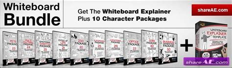 Whiteboard 187 Free After Effects Templates After Effects Intro Template Shareae Whiteboard After Effects Template