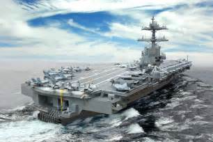 Gerald Ford Carrier Us Navy 21st Century Cvn 78 Ford Class