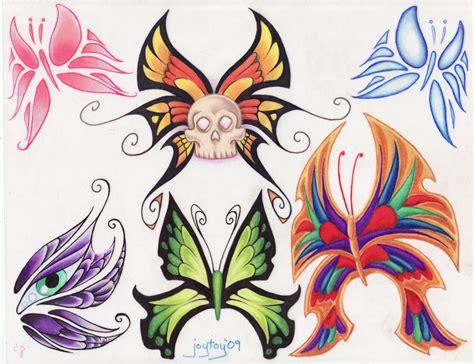 tattoo flash butterfly butterfly flash ii by joytoy on deviantart