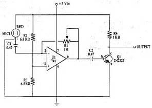 electret condenser microphone amplifier