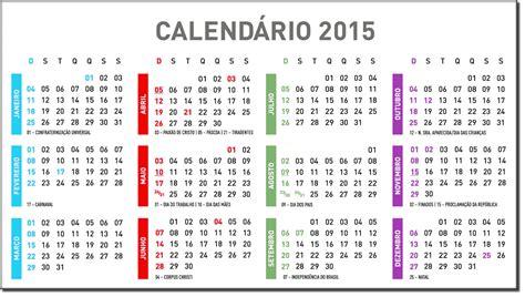 quantos feriados prolongados em 2015 lista de feriados