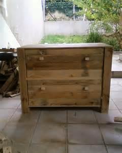meuble palette commode en bois recycl 233 meubles et