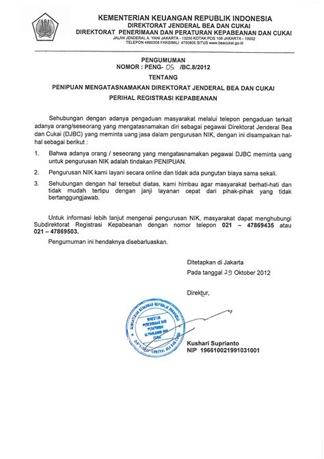 pengumuman website kppbc tipe madya pabean b yogyakarta page 2
