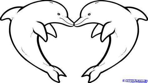 dolphin heart coloring page heart eyes emoji coloring sheet draw love dolphins dolphin