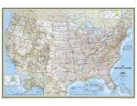 large map united states buy united states classic wall map large