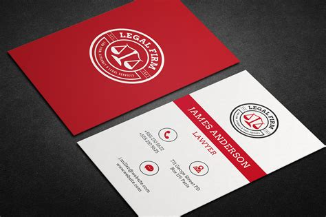lawyer business card templates lawyer business card vol 01 business card templates on