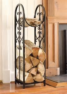 fireplace wood racks furnish burnish