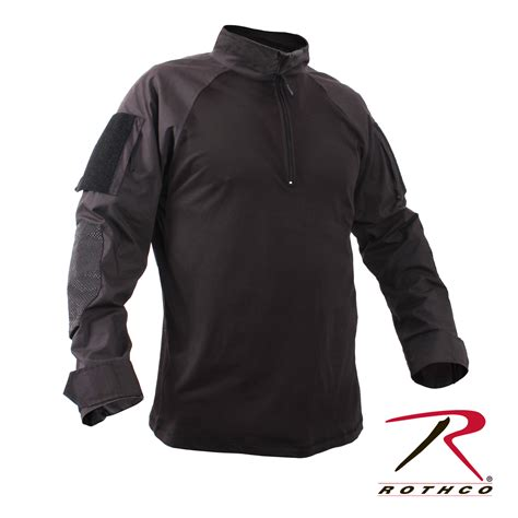 Tshirt Armour Kaos Tactical rothco 1 4 zip combat shirt black