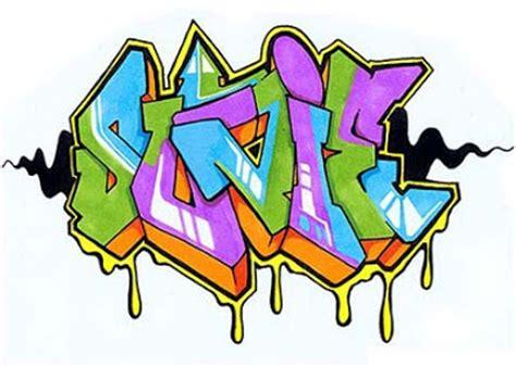 name style design the graffiti design