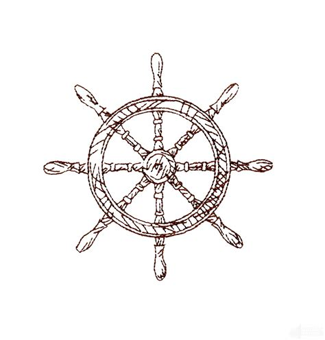 ship wheel tattoo design ships wheel embroidery design