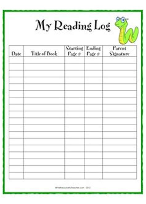 printable homeschool reading log 1000 images about reading charts on pinterest reading