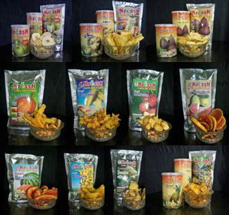 Keripik Buah Mix 300gr Apel Nangka Salak produsen kripik buah pembuatan keripik buah malang