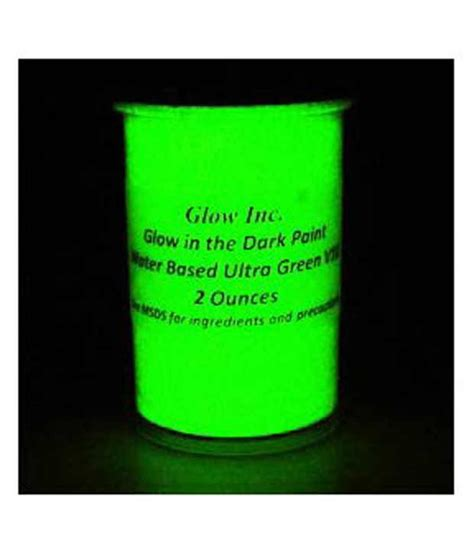 glow in the paint v10 ultra green v10 glow in the paint 1 2pt nri buy