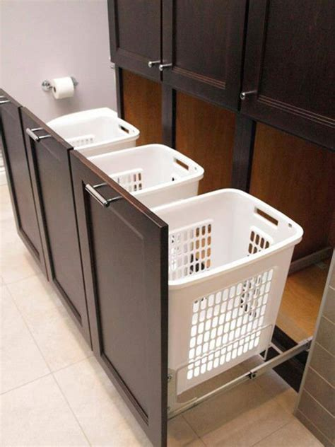 pull out laundry for cabinet 40 small laundry room ideas and designs renoguide
