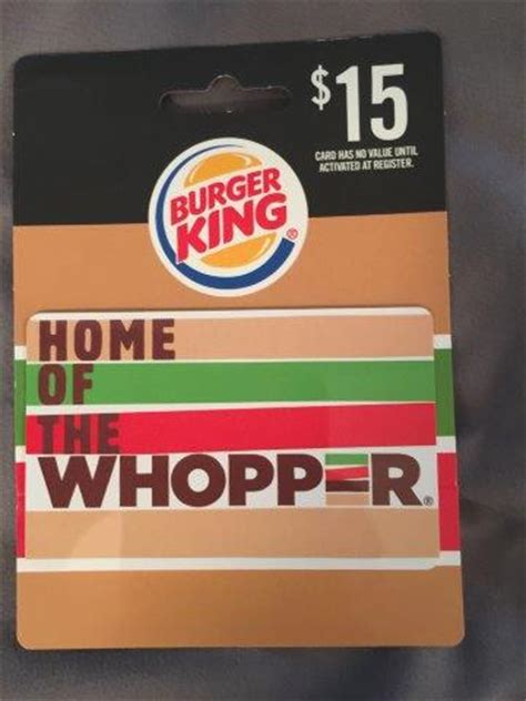 Burger King Gift Card - giveaway 15 burger king gift card gay nyc dad