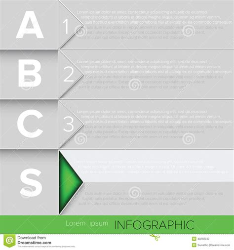Infographic Green Button Stock Vector Image 40250242 Button Biz Template